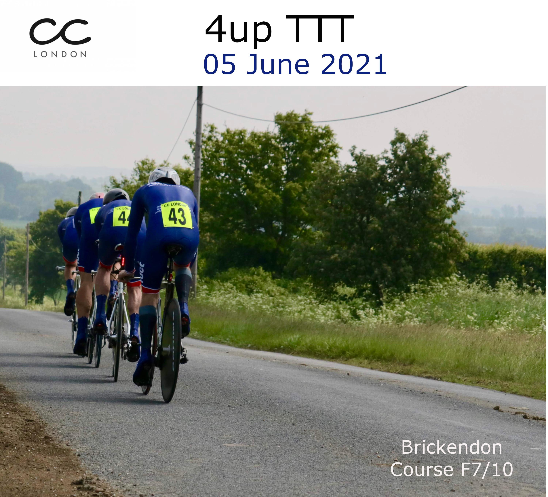 4up TTT - Brickendon @ Village Hall - Course: F7/10